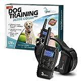 PetTech PT0Z1 Premium Dog Training Shock Collar, Fully Waterproof, 1200ft Range
