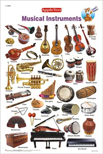 Amazon In Buy Educational Charts Musical Instruments Book Online At Low Prices In India Educational Charts Musical Instruments Reviews Ratings