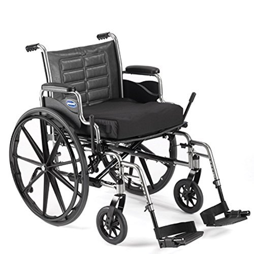 Bariatric Wheelchair - Heavy Duty with Desk Length Arms & Swingaway Footrests - 450lb Capacity - Invacare Tracer IV - Size 24 x 18