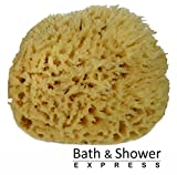 "Sea Wool Sponge 6-7"" (X-Large) by Bath & Shower Express ® Natural Renewable Resource!"