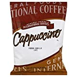 General Foods International Bulk French Vanilla Cappuccino Powder, 2 lb. Container (Pack of 6)