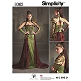 Simplicity Pattern 8363 H5 Misses' Fantasy Ranger Costume by Firefly Path, Size 6-8-10-12-14