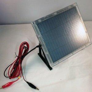 12-Volt Solar Panel Charger for 12V 5Ah Electric Trailer Breakaway Kit Battery
