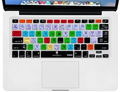XSKN-Adobe-Lightroom-Shortcuts-Keyboard-Skin-Hot-Keys-LR-Keyboard-Cover-for-MacBook-Air-13-MacBook-Pro-13-15-17-Retina-USEuropean-ISO-Keyboard