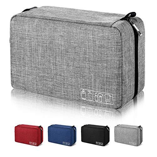Mens Toiletry Bag Hanging Travel Shaving Dopp Kit Waterproof Organizer Bag...