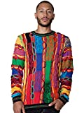 Product review for COOGI Bright Patchwork Crew Neck Sweater