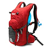 EULANT Hydration Backpack Multi-Function Riding Backpack for Hiking Running Cycling Camping and Mountain Outdoor Air Director Back Pane for Kids Women and Men (Not Included Water Bladder)