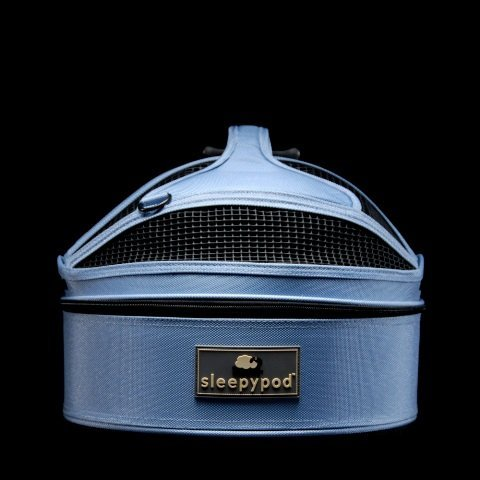 Sleepypod Mini Mobile Pet Bed, Sky Blue