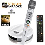 2018 Wireless MagicSing E2 · Home Karaoke · Stream 10,000+ English Songs · Subscribe to Stream 200,000+ Songs in Hindi, Tagalog, Spanish, & more · Free 12-Month Subscription Code