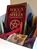 Pine Pentagram Pagan Wicca Witchcraft Charm Supplies Starter Gift Box Kit for Beginners