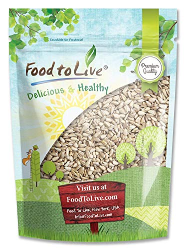 Sunflower Seeds by Food to Live (Raw, Kernels, Shelled, Kosher, Bulk) - 2 Pounds