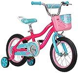 Schwinn Elm Girl's Bike with SmartStart, 14' Wheels, Pink