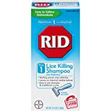 RID Lice Killing Shampoo, Proven Effective Head Lice Treatment for Kids and Adults, Includes Nit Comb, Bottle, 4.0 Ounces
