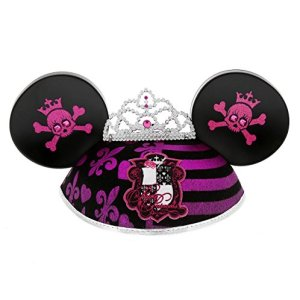 """DISNEY PARKS EXCLUSIVE """"Pirate Princess"""" Mickey Ears Hat"""