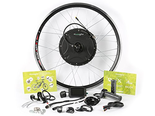 EBIKELING 48V 1500W Direct Drive Rear 700c eBike Kit Built-In Controller - No batteries included