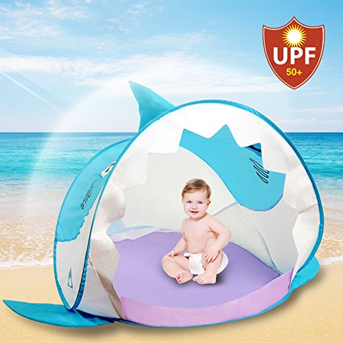 Sunny Hippo Pop Up Baby Tent with UV Protection
