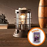 HM Homes Edison Nautical Rustic Vintage Wax Candle Warmer by ScentSationals