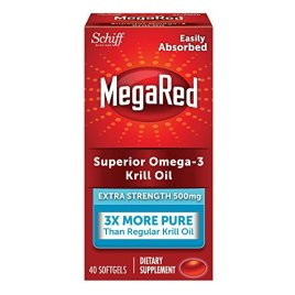 MegaRed 500mg Extra Strength Omega-3 Krill Oil