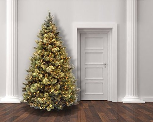 artificial christmas trees with lights 75