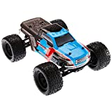 ARRMA GRANITE VOLTAGE MEGA 2WD SRS RC Monster Truck RTR with 2.4GHz Radio   2 x Li-Ion Battery   Charger   1:10 Scale (Blue/Black)