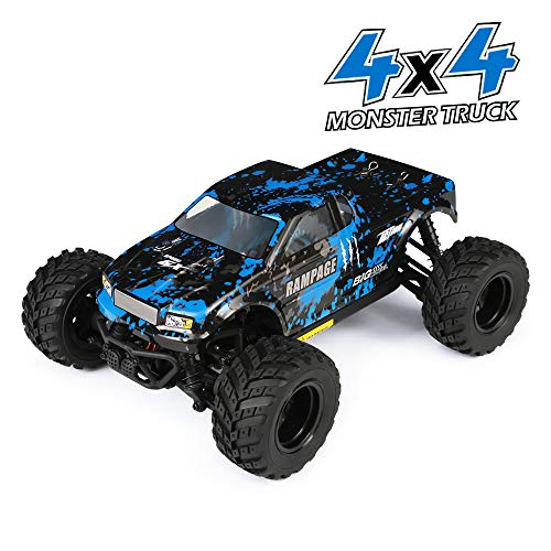 HAIBOXING RC Cars 1/18 Scale 4WD Off-Road Monster Trucks with 36+KM/H High Speed, 2.4 GHz Remote-Controlled Electric All Terrain Waterproof Vehicles with Rechargeable Battery for Kids and Adults RTR