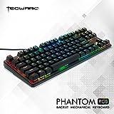 Tecware Phantom 87 Key Mechanical Keyboard, RGB led, Outemu Brown Switch