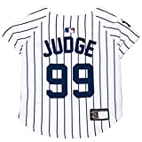 MLBPA Dog Jersey - Aaron Judge #99 Pet Jersey - MLB New York Yankees Mesh Jersey, X-Small