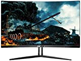Sceptre C275B-144MN 27' Curved 144Hz Gaming LED Monitor AMD FreeSync, 1800R Curvature, DisplayPort HDMI DVI, FPS RTS, Metal Black (v.2018)