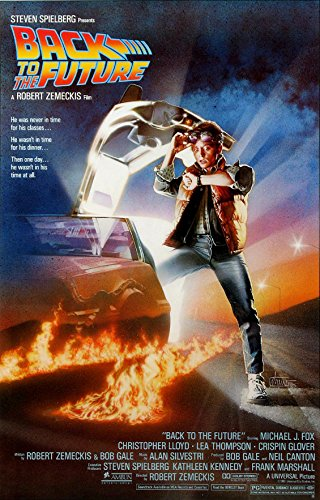 """Back To The Future - Movie Poster (Regular Style) (Size: 24"""" x 36"""")"""