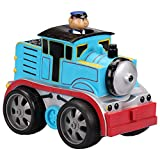 Kid Galaxy Soft Pull Back Train. Wind up Car Vehicle Toy for Toddlers and Kids Age 18 Months+, Blue