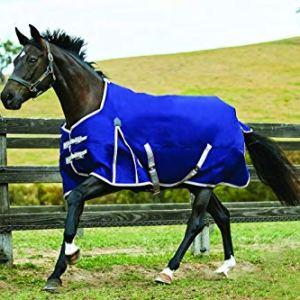 WeatherBeeta Comfitec Essential Standard Neck Blanket Medium Navy/Silver/Red 78″