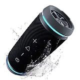 TREBLAB HD77 Premium Portable Speakers - Loud 360° HD Surround Sound Wireless Speakers, Bluetooth Speakers Waterproof IPX6, 25W Powerful Bass, 20H Battery, Best for Outdoor Sports