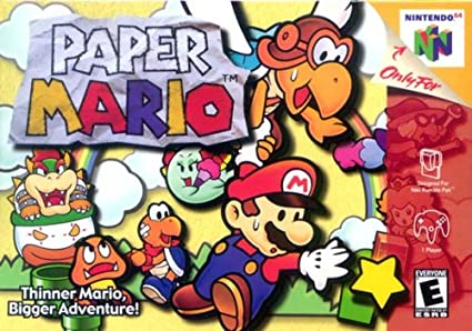 Image result for paper mario n64