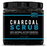 Bring a health glow back to your skin using M3 Natural's all natural Charcoal Face & Body Scrub! This easy-to-use scrub will work FOR YOU to remove oils, fight acne, and restore a youthful glow! During the day your face is exposed to endl...