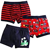 Jojobaby Baby Toddler Kids 2T-7T Boys Boxer Brief 3-Pack Underwear Set 100cm 3T