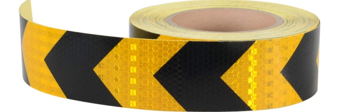 Shop Aisey Online At Low Price In Azerbaijan At Azerbaijan | Reflective Tape For Outdoor Steps | Hazard Warning Tape | Yellow | Self Adhesive | Retro Reflective | Concrete Steps