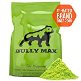 Bully Max Muscle Building Powder for Dogs. 5X More Effective Than Other Brands. Used by 393,932 Dog Owners. for All Breeds Including Pit Bulls, Bulldogs, Bully Breeds, and More.