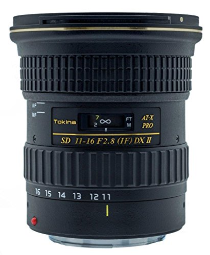 Tokina 11-16mm f/2.8 AT-X116 Pro DX II Digital Zoom Lens (AF-S Motor) (for Ni...