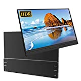 Portable Monitor, UPERFECT 13.3' Super Thin PC Display IPS Screen 1920×1080 with Stand Foldable Case Fit for Mini HDMI Type-C PD Dual Speakers 60HZ for Computer Laptop PS4 Switch Xbox 360 Nintendo