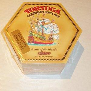 Large Tortuga Original Rum Cake / 454g 51P8ffbDD3L