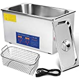 Mophorn Ultrasonic Cleaner 22L Total 1000W Commercial Ultrasonic Cleaner with HEA Professional Stainless Steel Industrial Ultrasonic Cleaner Jewelry Cleaner with Heater Timer(22L)