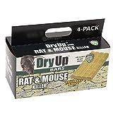 HARRIS Dry-Up Mouse and Rat Killer, 16oz Bait Bars (4-Pack)