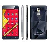Hometom Cell Phones, 5.5'' Unlocked Smartphone - Android 5.1 Quad Core- 8GB - IPS GSM GPS 3G Dual Camera Phone (Black)