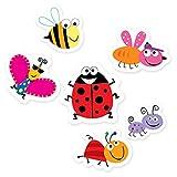 Creative Teaching Press 6-Inch Designer Cut-Outs, Bugs (6479)