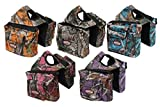 Product review for Showman Real Oak CAMO Endurance Trail Riding Insulated Nylon Saddle Horn Bag (Purple)