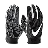 NIKE Men's Super Bad 4.5 Football Gloves (Black, XX-Large)