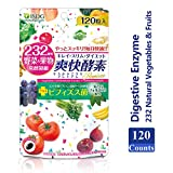 ISDG Anti-Constipation Enzyme with 232 Natural Vegetables & Fruits - Accelerate Healthy Bowel Movements and for Weight Loss. 120 Count