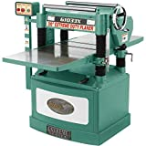 "Grizzly Industrial G1033X - 20"" 5 HP Helical Cutterhead Planer"