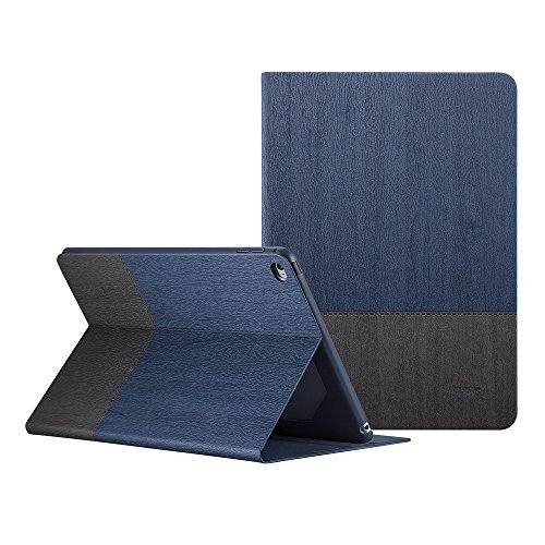 ESR Simplicity Series Stand Case for The iPad Air 2, [Multi-Stand View Angles] [Auto Wake/Sleep Function] Compatible for The iPad Air 2(Knight)
