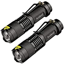 Rockbirds Flashlights 7W 2 Pack